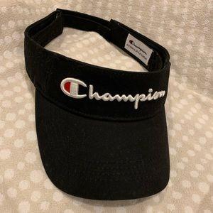 Champion Visor Athletic Wear Velcro Adjustable